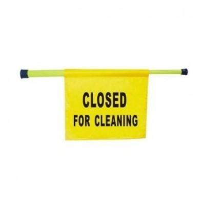 Bord gesloten wegens reinigingswerkzaamheden